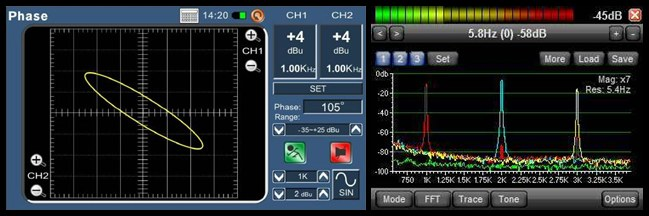 Analizzatore Spettro Audio-horz